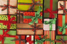 Christmas, new year and other holiday boxes. Crop, close-up stock photography Stock Foto, Christmas Photos, Close Up, Boxes, Gift Wrapping, Holiday, Photography, Gifts, Xmas Pics