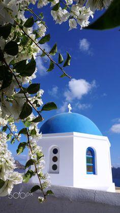 traditional church in small village oia on santorini Santorini House, Santorini Greece, Santorini Island, Kusadasi, Greece Painting, Greek Beauty, Greek Isles, Greece Travel, Travel Destinations