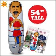Bop Obama Inflatable Punching Bag for $21 w/Free Shipping!