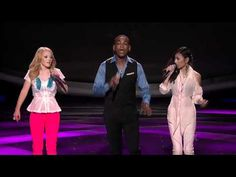 """One of the best power trios ever on American Idol was this week: Jessica & Joshua & Hollie singing """"What Doesn't Kill You (Makes You Stronger)"""" on Season 11's Top 7 show.  [The next night, Jessica was voted off - but the judges used their once-a-season """"save"""" to keep her in the competition...)"""