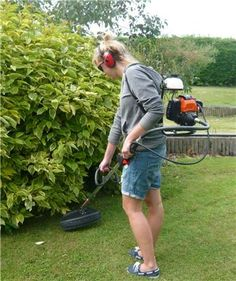 £202 + delivery. The Titan Pro Backpack Brushcutter has 40.7cc petrol engine and is perfect for the larger gardens.  No wires means that you are safer and can go further.  See more http://www.titan-pro.co.uk/Titan-Pro-BT430--40.7cc-Backpack-Brushcutter-/136/0/Product.aspx