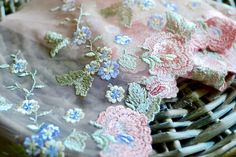 Pink peach lace fabric I Pink peach lace trim I Lace trim I Lingerie lace I Lace fabric I Shabby chic lace I Lace I Rose lace I Peach lace by SixthCraft on Etsy