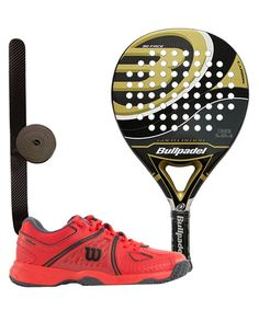 PACK BULLPADEL GOLD EDITION 2015 Y ZAPATILLAS WILSON NVISION