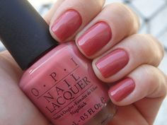 Image uploaded by - A. Find images and videos about pink, nails and nail polish on We Heart It - the app to get lost in what you love. Nail Lacquer, Opi Nail Polish, Opi Nails, Pink Polish, Shellac, Great Nails, Cute Nails, Opi Nail Colors, Nail Envy