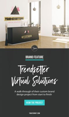 A walk through of my branding and website design project for Trendsetter Virtual Solutions. Trendsetter Virtual Solutions recruits agents as independent contractors to work from home as customer service reps for various Fortune 500 companies. Click through to view the project from start to finish! #branding #brandinspiration #brandinspo #branddesigner #graphicdesign #graphicdesigner #entrepreneur #smallbusiness #brandidentity Logo Branding, Branding Design, Branding Portfolio, Rack Card, Online Entrepreneur, Brand Packaging, Spiritual Awakening, Customer Service, Design Projects