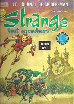 Couverture de Strange -REC051- Album n° 51 (du n°152 au n°154)