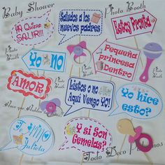 photo booth carteles divertidos para tus fotos baby shower