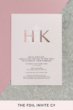 Fern Wedding Invitations - Blush Card with Rose Gold Foil by The Foil Invite Company Blush Wedding Invitations, Wedding Invitation Design, Fern Wedding, Gold Wedding, Wedding Stickers, Rose Gold Foil, Romantic Weddings, Invite, Invitation Ideas