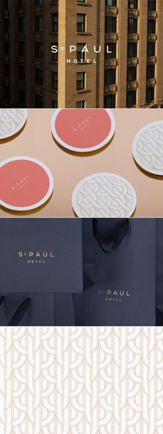 Branding for a boutique design hotel Hotel Branding, Restaurant Identity, Hotel Logo, Luxury Branding, Restaurant Restaurant, Corporate Identity, Corporate Design, Visual Identity, Identity Branding