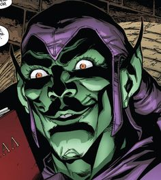 Green Goblin smile