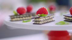 Minibakelser med choklad.