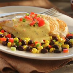 Southwest Chicken. *This was delicious and easy*