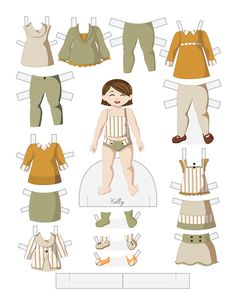 Toddler Fashion Friday - KELLY by Julie Matthews from Paper Doll School