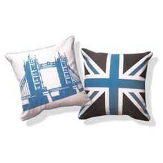 """Tower Bridge of London Pillow - 16"""" x 16"""" need these"""