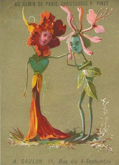 Tales from Weirdland — Vintage French flower people postcard for François. Weird Vintage, Vintage Art, Photo Wall Collage, Collage Art, French Flowers, Funky Art, Hippie Art, Psychedelic Art, Aesthetic Art