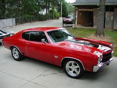1969 Chevy Chevelle SS. Mine and Justin's dream car, perhaps?