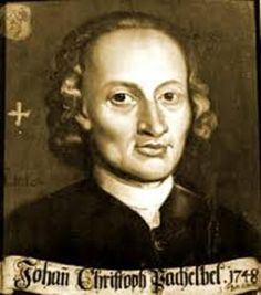 Johann Pachelbel (1653-1706) was a German composer, organist and teacher who brought the south German organ tradition to its peak. He composed a large body of sacred and secular music, and his contributions to the development of the chorale prelude and fugue have earned him a place among the most important composers of the middle Baroque era. Pachelbel is best known for the Canon in D, as well as the Chaconne in F minor, the Toccata in E minor for organ, and the Hexachordum Apollinis.