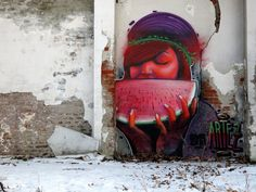 By Artez. In Belgrade, Serbia. Photo by Walls of Belgrade.