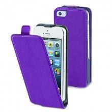 Forro iPhone 5 Muvit - Slim Lila con Protector Pantalla  CO$ 41.639,36