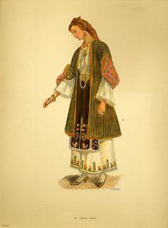 Costume from Almyros - Collection Peloponnesian Folklore Foundation Greek Traditional Dress, African Traditional Dresses, Traditional Outfits, Ethnic Fashion, Punk Fashion, Lolita Fashion, Ancient Greek Costumes, Emo Dresses, Party Dresses