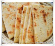 Kesra, aghroum ou khobz ftir (galette pain kabyle à la semoule)