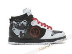 Nike Dunks High V for Vendetta