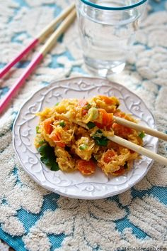 "Spaghetti Squash ""Fried Rice"" 