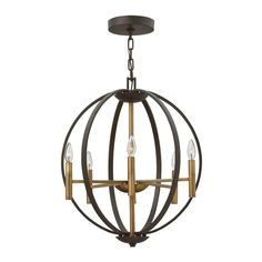 Current Obsession Lantern Chandeliers