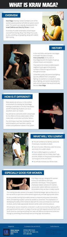 Krav Maga for #women-empower women [infographic]