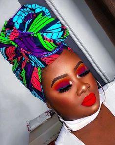 20 Beautiful and Creative Head Wrap Styles Style Turban, Anastasia, Head Band, African Head Wraps, Head Wrap Scarf, Looks Black, Scarf Hairstyles, Black Hairstyles, Bandeau