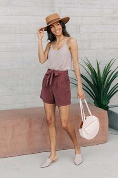 🥰 Loving these earthy lavender & terracotta tones. Cute Summer Outfits, Pretty Outfits, Spring Outfits, Casual Outfits, Cute Outfits, Fashion Outfits, Womens Fashion, Easy Outfits, Teen Fashion