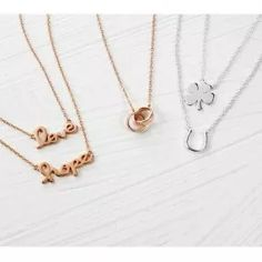 Bling Jewelry Rose Gold Plated Interlocking Circle Sterling Silver Necklace 16in