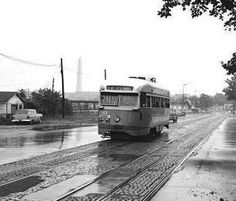 DC Transit PCC on Maine Avenue SW (Route 74) (Ed Havens Collection).