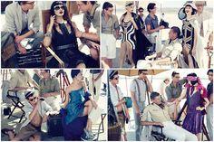 """Behind the Scenes"" - Vogue Turkey Abril by Phil Poynter"