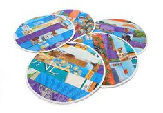 More Recycling from Moderncat Studio: Cat Feeding Placemats Made from Recycled Cat Food Bags