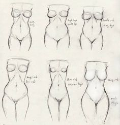 Learn different women bodies