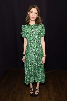 Sofia Coppola attends the Marc Jacobs Fall 2019 Show at Park Avenue Armory on February 2019 in New York City. Celebrity Outfits, Celebrity Style, Taurus, Sofia Coppola Style, Mother Daughter Photos, Valentino Gowns, All Black Looks, Vogue Fashion, Front Row