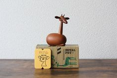 Vintage collectible Deer a mid century modern wood Deer by Senshukai Japan collectible Royal Pet Animal series vintage MCM home decor Vintage Gifts, Vintage Decor, Etsy Vintage, Vintage Shops, Vintage Style, Vintage Items, Antique Collectors, Antique Stores, Antique Tea Cups