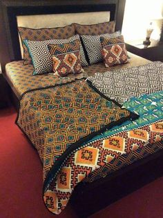 Beautiful new bedsheets from Kashkin Jewels