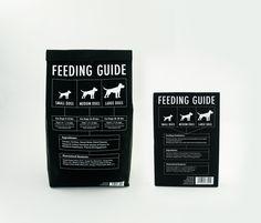 Pure Pet Dog Food Packaging & Branding by Joey Ellis, via Behance