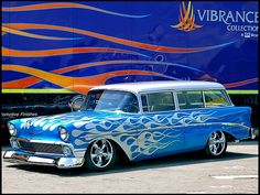 1956 Chevrolet 210 Handyman Wagon 496 CI, Life-Size Hot Wheels Car presented as lot S134 at Anaheim, CA 2012 - image9