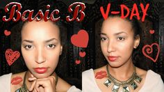 Basic B Valentine's Day Makeup Look (Easy) | Stiel Serious  basic makeup, valentine's day makeup, red makeup, pink makeup, simple makeup