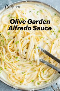 Could You Eat Pizza With Sort Two Diabetic Issues? Make Olive Garden's Alfredo Sauce Recipe At Home In Just 20 Minutes Pair It With Fettuccine For An Easy Dinner Idea The Whole Family Will Love Parmesan Bratkartoffeln, Easy Dinner Recipes, Easy Meals, Easy Noodle Recipes, Easy Home Recipes, Salsa Alfredo, Pasta Dinners, Homemade Sauce, Antipasto