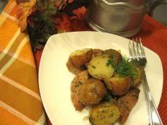 Oktoberfest Potato Salad #salads #JillsTable Potato Salad, Salads, Potatoes, Meat, Chicken, Ethnic Recipes, Food, Oktoberfest, Beef