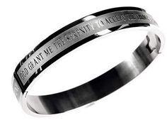 """Bangle-Serenity (Matt 11:28) (7""""), Bracelet"""