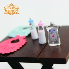 1:12  Dollhouse Miniature Baby Bottles Bib Body Wash Accessories for Baby Furniture Bedroom Decoration Sets Free Shipping-in Furniture Toys from Toys & Hobbies on Aliexpress.com | Alibaba Group