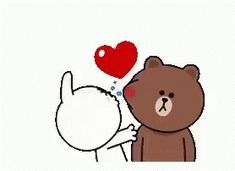 The perfect Cony CryingLaughing Pillow Animated GIF for your conversation. Discover and Share the best GIFs on Tenor. Cute I Love You, Love You Gif, Cute Love Gif, Cute Couple Cartoon, Cute Cartoon Pictures, Cute Love Cartoons, Hug Gif, Gif Animé, Animated Gif