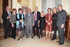 Embajada de Brasil. Medalla a Rafel Lopez de Andujar