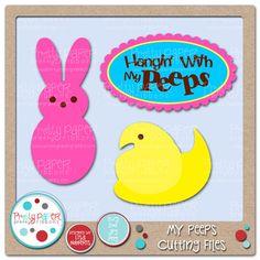 Happy Scrapper: PPPR DT Day & Scrappy Moms Stamps: For Peeps Sake!