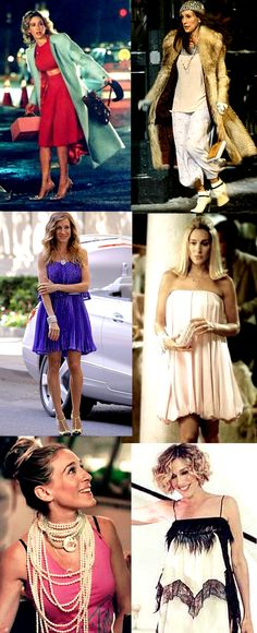 I was a Carrie before I knew who Carrie was. Such a Style Icon - Love this!!